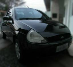 Ford KA GL 1.0i Zetec Rocam - 2007 Preto - 2007