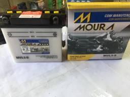 Bateria Moura MV5,5-D YBR Factor/
