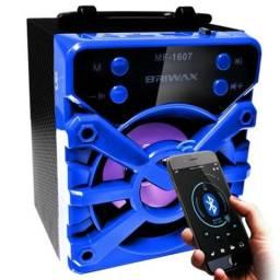 Promoção Caixa de Som Bluetooth Top Várias Cores