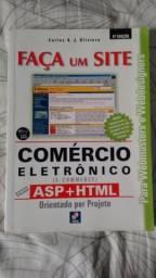 Livro - Faça Um Site - Comércio Eletrônico com Asp+Html Em Ótimo Estado