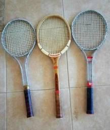 Raquetes e Bolas de Tenis