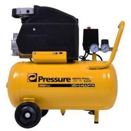 Motocompressor 8,2 pés 24 litros 2hp - pressure
