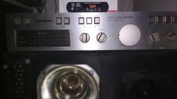 Amplificador Gradiente 166 + caixa+ placa MP3