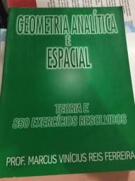 Livro Geometria analítica e espacial