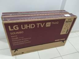 Cartao 12x214 Smart TV 4K LED 50? LG 50UN80 Modelo2020 Bluetooth HDR Nfe Garantia Lacrado