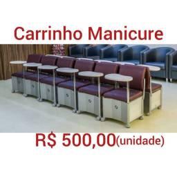 Carrinho Manicure só hoje R$ 80,00