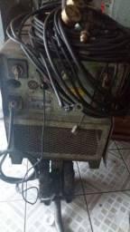 Máquina de solda mig White Martins 320 amp e Bambozi 300 amp