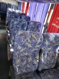 Poltronas Soft reclináveis para micro onibus ou van