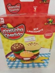 Massinha Divertida,Kit Lanchonete
