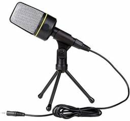 Microfone Condensador Youtuber C/ Suporte Andowl Qy-920