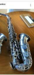Manutenção de instrumentos de sopro.