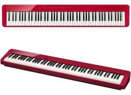 Piano Privia Digital Casio Px-s1000 Vermelho (Mixer Instrumentos Musicais)