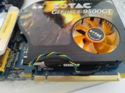 Placa de Video Geforce 9500gt 1GB 128bits