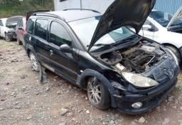 Sucata Peugeot 206 1.6 16v SW Escapede