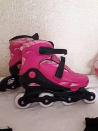 Kit de patins completo 36 à 39 R$220