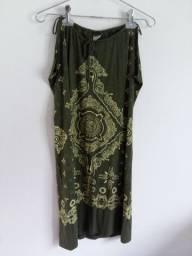 Vestido indiano roupa feminina