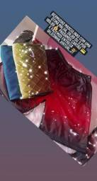 Vendo bermudas da Nike c bolso de zíper malha grossa 39,99