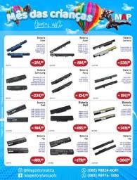 Baterias de notebooks em promoção ( dell, hp, asus, lenovo e etc)