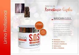 Máscara SOS antioxidante reconstrução 500g