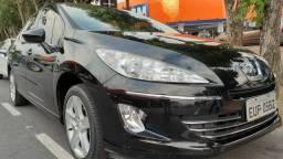 15- Peugeot 408 Feline 2012 AUT. + COURO