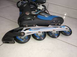 Patins Oxer ABEC-7 tamanho 39 Roller