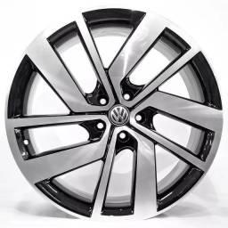 Jogo de Roda VW Jetta GLI aro 20 zk 810 Roda Ideal para VW, Jetta, Golf, Novo Polo, Virtus