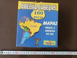 Quebra cabeça - mapa do brasil - 160pc