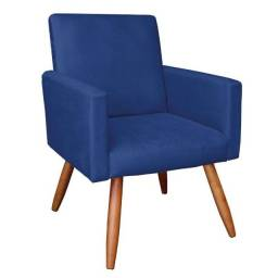 Poltrona Retrô Azul Marinho - 9258