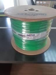 Bobina de Cabo Flexível 1 x 4,0mm QualiFlex Verde