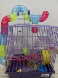Gaiola para   hamster sírio/anão russo