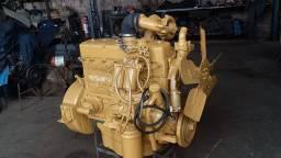 Motor Mercedes 352 turbo. Diversas aplicações.