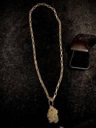 Cordão de ouro 18k 21g