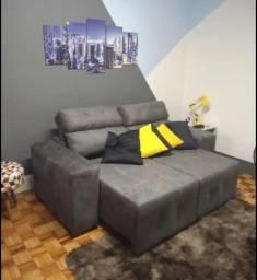 Sofa retratil e reclinavel New York