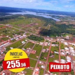 Terrenos a prestação em Caldas Novas 255.56 por mês