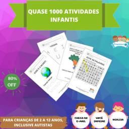 Atividades infantis (tenho amostra grátis)
