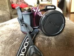 Câmera Nikon Coolpix L830 Roxa