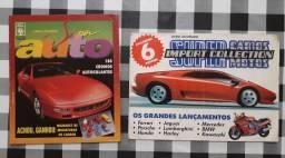 Albums Super Auto de 1995 e Super Carros de 1994<br>