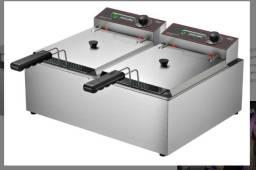 Fritadeira 2 cubas elétrica (fran)