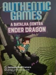 Lovor do authentic games (A batalha contra ender  Dragon) ,(livro jogo)