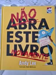 Não abra este livro novamente - Andy Lee