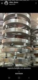 Suporte de botijão em alumínio