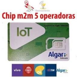 Chip multioperadora - Chip Telemetria - Chip m2m - Chip Rastreamento - Chip Algar
