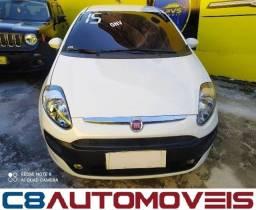 Fiat Punto 1.4 + GNV 2015 + Sem Entrada + Sem Comprovação de Renda!