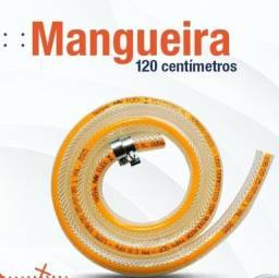 Título do anúncio: Mangueira 1,20m Para gás, Normatizada,  Reforçada ,NOVA/ACEITO TROCAS