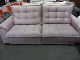 ?Sofá Retrátil e reclinável com assento em molas ensacadas?