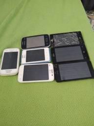 São 3 Microsoft nokia 2 lg e 2 Samsung