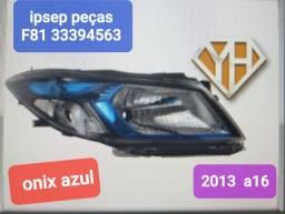 Título do anúncio: Farol onix azul 2013 a 2016
