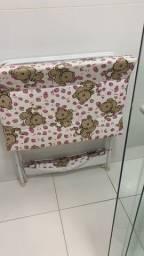 Vendo banheira com suporte pra trocador