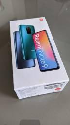 Xiaomi Redmi note 9 - 4/128gb - NFC - Novo Lacrado - Somos Loja