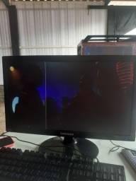 monitor 19 polegadas led funcionando so listrinha hj